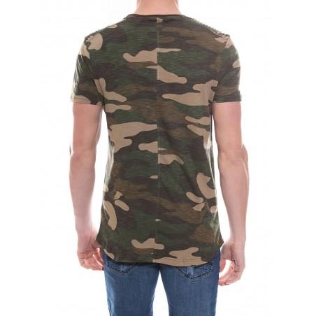 T-shirt oversize col rond en coton NADAL