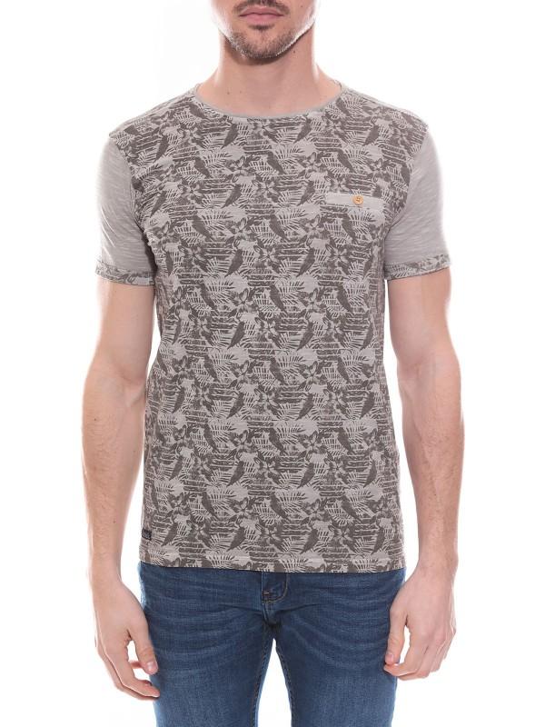 T-shirt col rond en coton NAGOYA