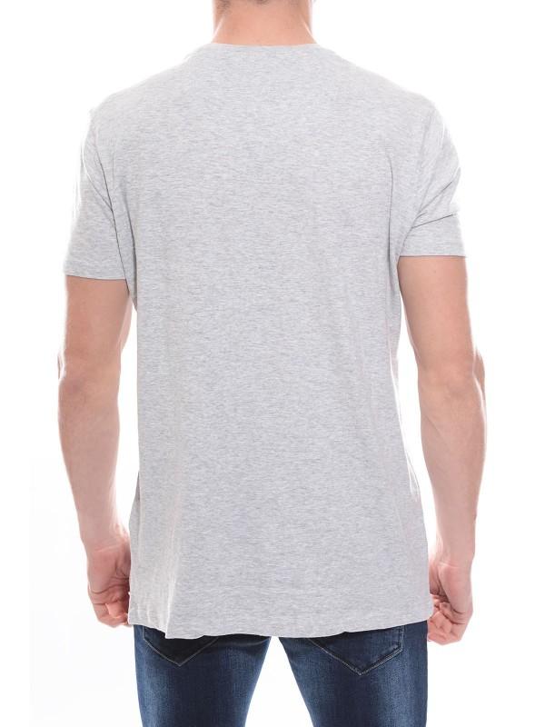 T-shirt col rond en coton NANOOK