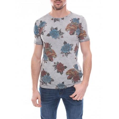T-shirt col rond en coton NATILE