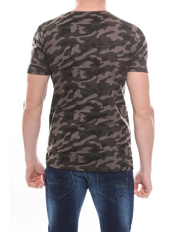 T-shirt col rond en coton NEDA