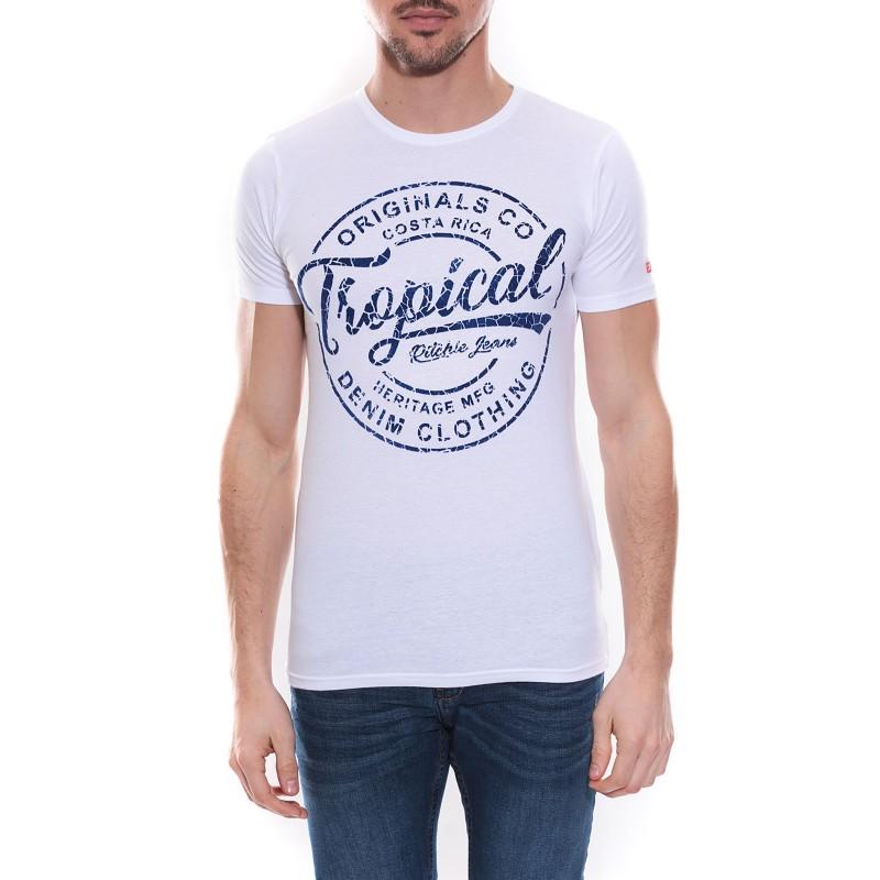 T-shirt col rond NEVILLE