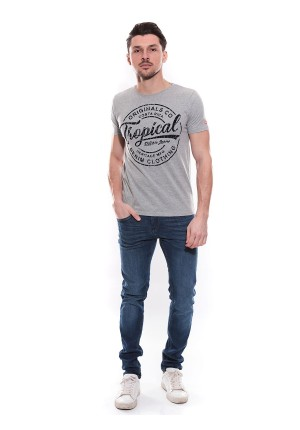 T-shirt col rond NEVILLE