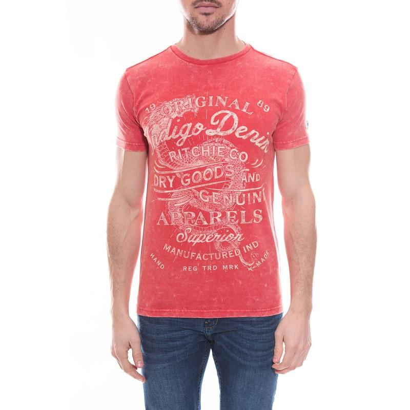 T-shirt col rond en coton NIGERS