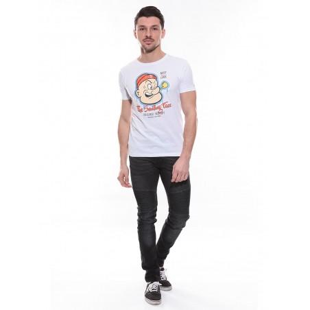 T-shirt col rond en coton NOPEY
