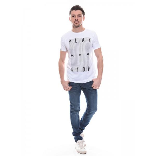 T-shirt col rond en coton NOROKO