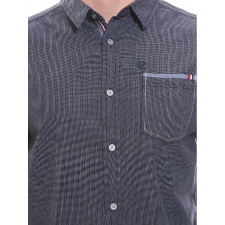 Chemise petits carreaux en coton DAKAR
