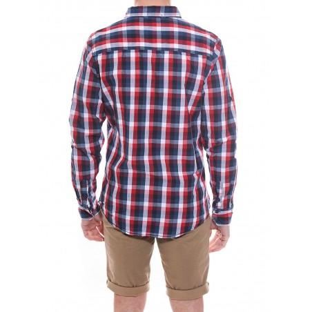 Chemise à carreaux en coton DOME