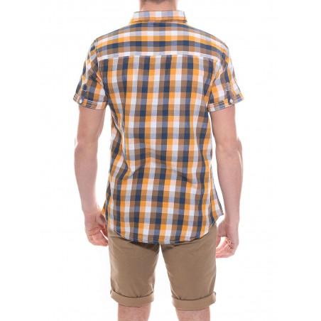 Chemise à carreaux en coton DYNAMO