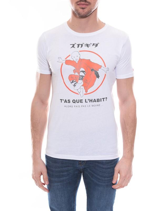T-shirt col rond en coton NERAC