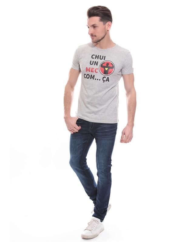 T-shirt col rond NOGENT