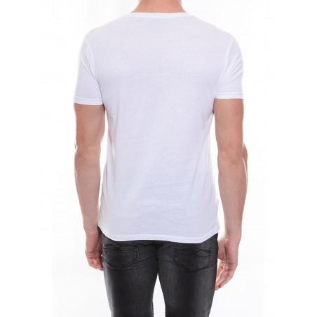 T-shirt col rond en coton NYONS