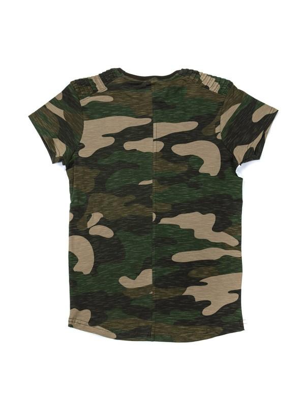 T-shirt oversize col rond en coton NADAL BOY
