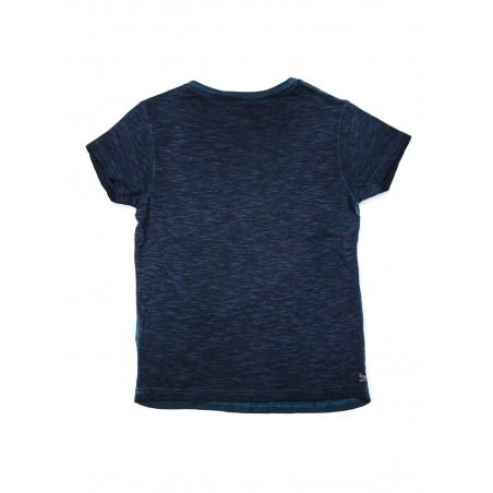 T-shirt col rond en coton NANKO BOY