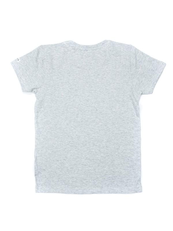 T-shirt col rond en coton NANOOK BOY