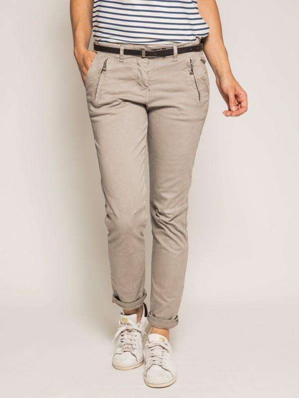 Pantalon chino slim ELLEN
