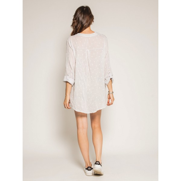 Blouse ample manches 3/4 ODELA