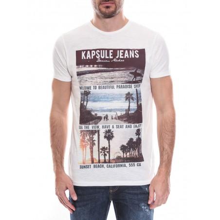 T-shirt col rond manches courtes KJ MACK