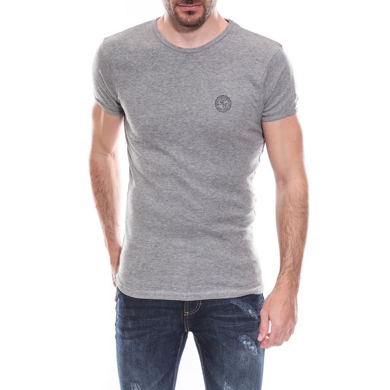 T-shirt col rond manches courtes pur coton KJ MARLOF