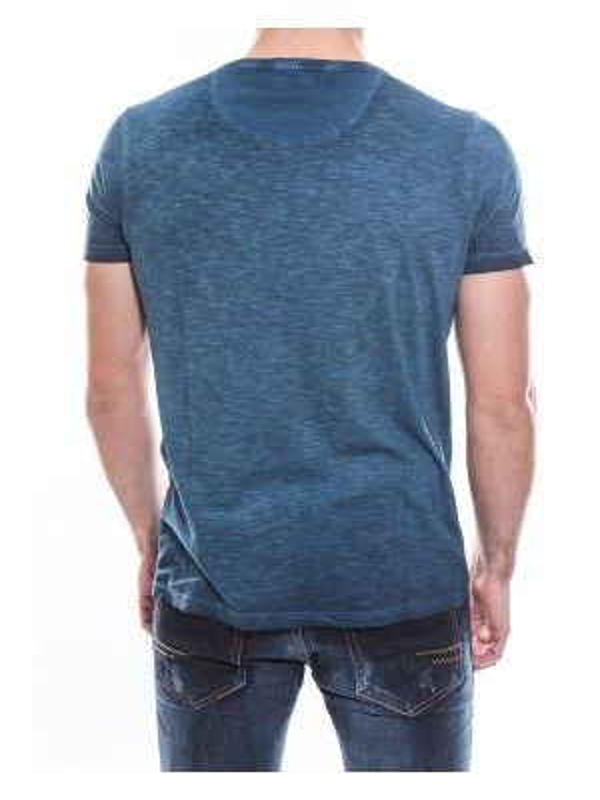 T-shirt col rond manches courtes pur coton KJ NATIX