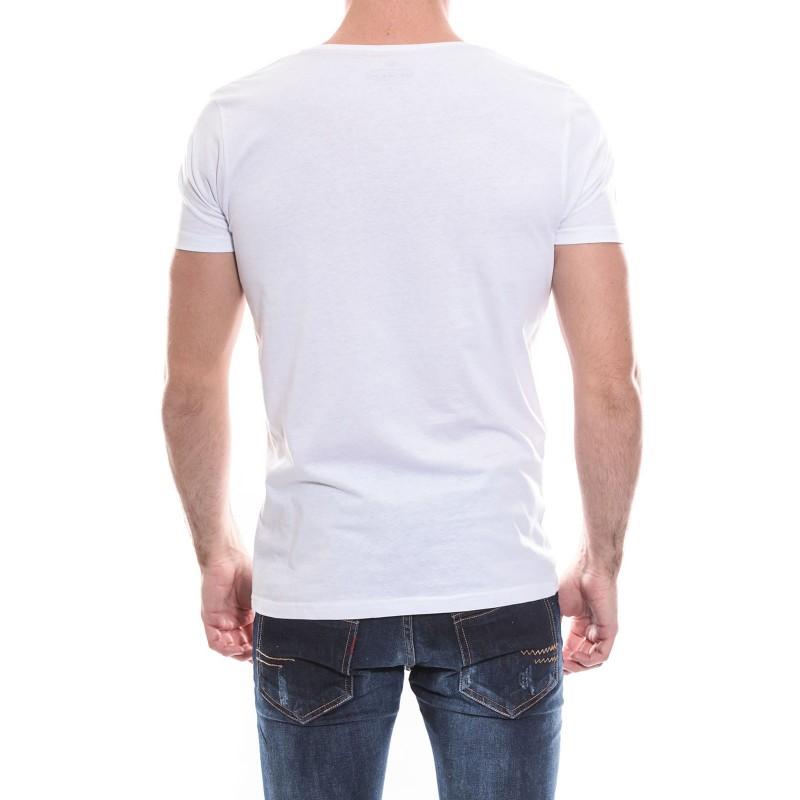 T-shirt col rond manches courtes pur coton KJ NURY