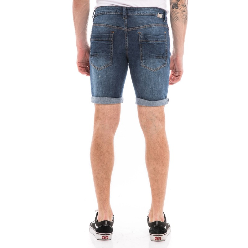 Bermuda en jean coupe slim KJ-BLOP