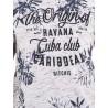 T-shirt col rond manches courtes NAKOTA