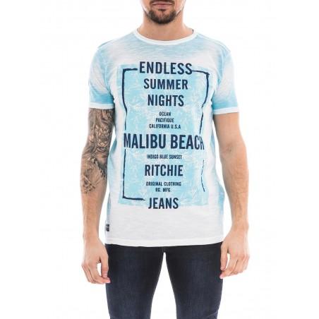 T-shirt col rond manches courtes NANDO