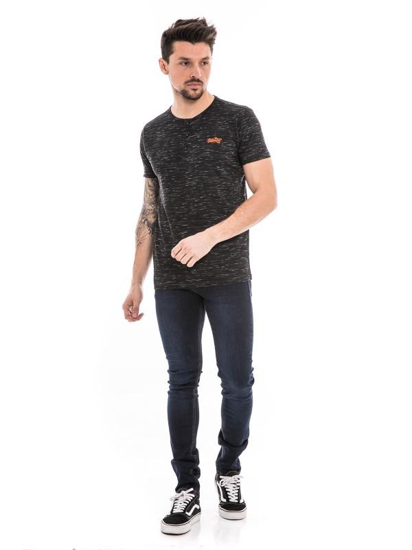 T-shirt col tunisien manches courtes NANGEL