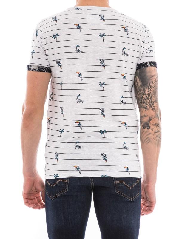 T-shirt col rond manches courtes NEPIK