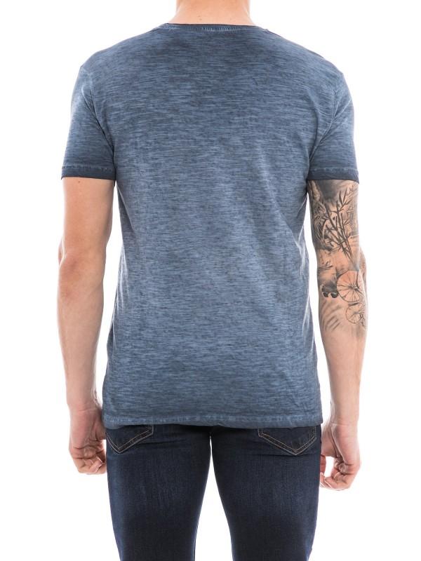 T-shirt col V manches courtes NOGOTA