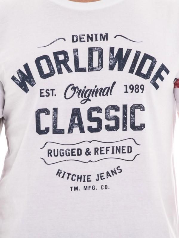 T-shirt col rond manches courtes NOLERO