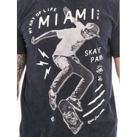 T-shirt col rond manches courtes NOUBA