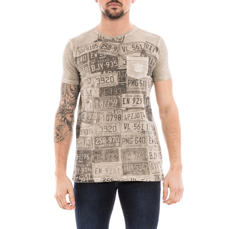 T-shirt col rond pur coton NEDELKO
