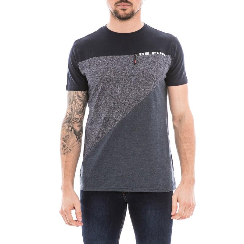 T-shirt col rond pur coton NOUKY