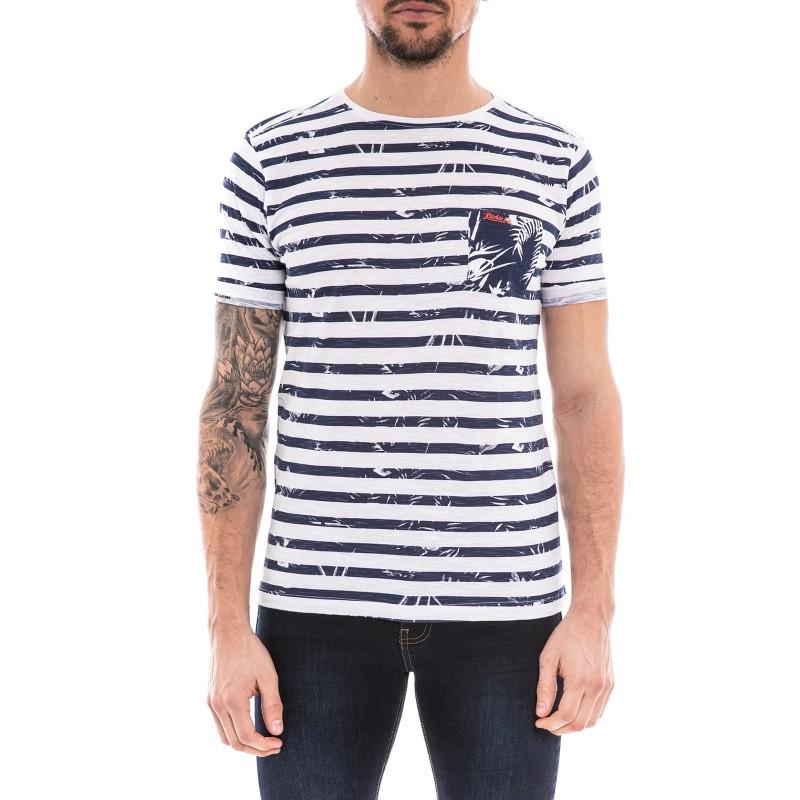 T-shirt col rond pur coton NOBORU