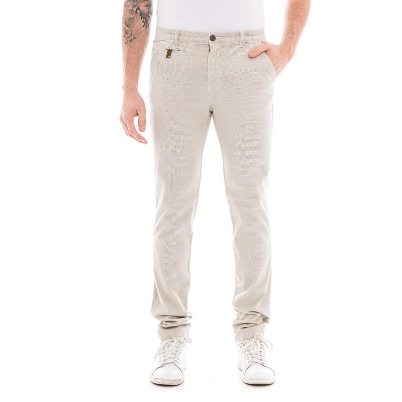 Pantalon chino slim CODDY