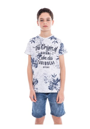 T-shirt col rond NAKOTA BOY