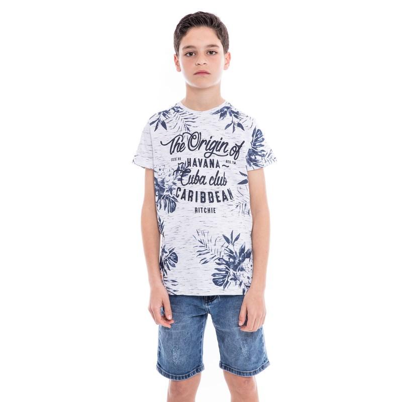 T-shirt col rond NAKOTA BOY