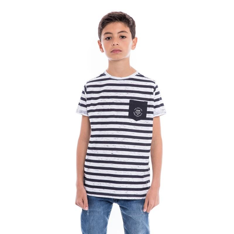 T-shirt col rond coton NOUTAR BOY