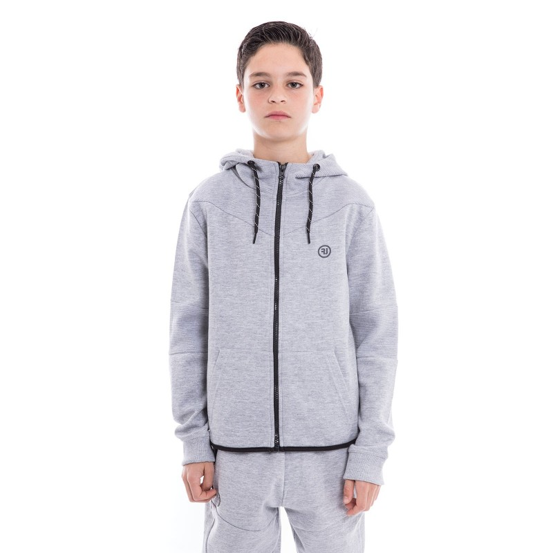 Sweat zippé capuche WOOSTER-J