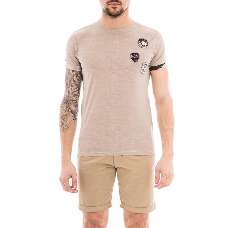 T-shirt col rond pur coton KJ-NIKORO