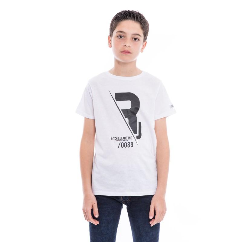 T-shirt pur coton organique NABAS BOY