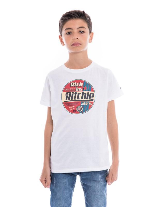 T-shirt pur coton organique NAGEL BOY