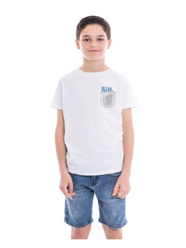T-shirt pur coton organique NAMPTY BOY