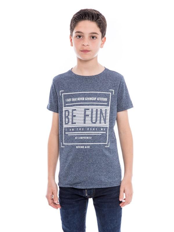 T-shirt pur coton NARANJA BOY