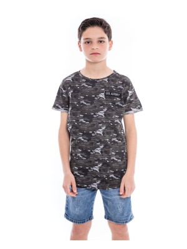 T-shirt motif militaire NIMON BOY