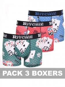 Boxer motifs RAMITYS, lot de 3