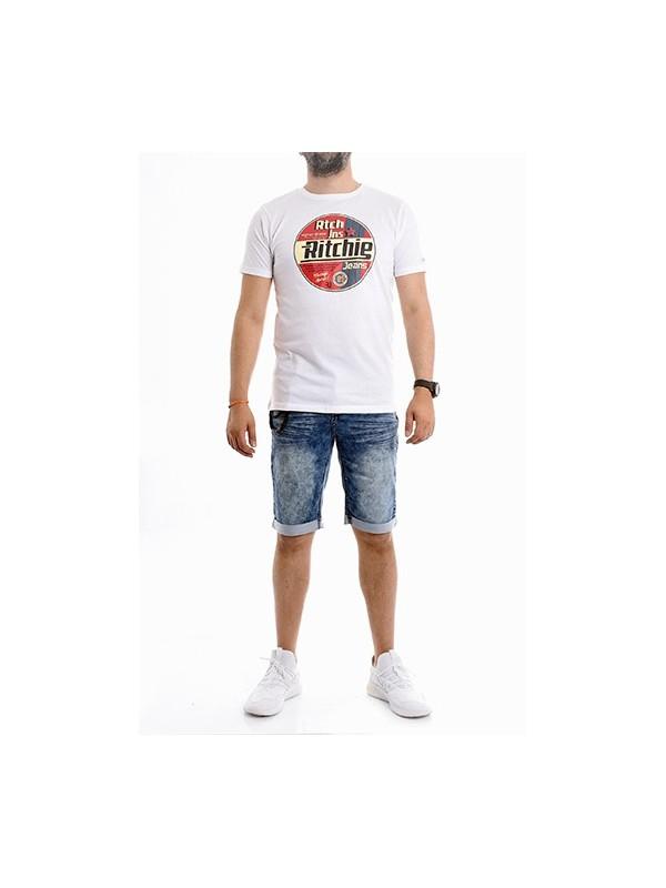 T-shirt col rond pur coton organique NAGEL
