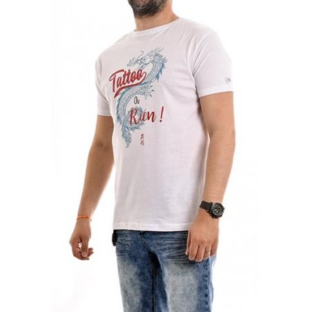 T-shirt col rond pur coton organique NADES